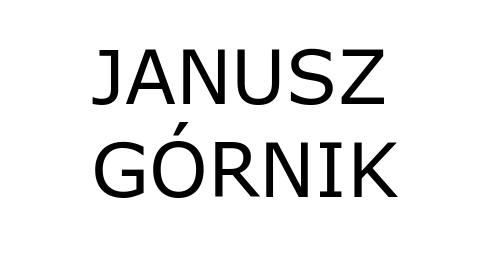 JANUSZ GÓRNIK